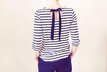 Jolis hauts / À faire ou à imiter : blouses, chemisiers, tops, vestes, manteaux