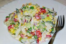 SALÁTY / salads