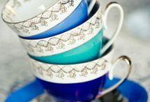 tea cups and tea pots / by Cindy Keefe Hack-Cross