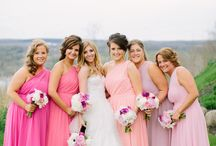 Lavender + Coral + Pink Wedding / If you're going to pin everything... Then you might as well follow..