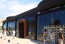Fuerteventura / Uno dei due centri commerciali che abbiamo realizzato a Fuerteventura, nelle splendide Isole Canarie!