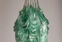 Pipaluk Lake / Glass art