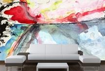 Abstract Wall Murals