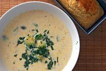 food . soups  / by Stephanie Shifflett