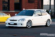 Honda Civic's