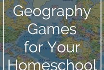 Geography + Homeschooling
