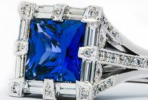 Stunning in Sapphire / Tacori's most coveted engagement rings, with custom sapphire variations.