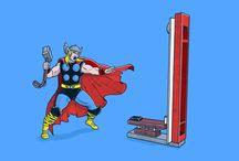 Marvel @ this Board / Marvel