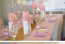 Magical Unicorn Afternoon Tea / Everyone loves unicorns. Please join us at our magical unicorn tea party and add your own sparkle, colour and magic to our board