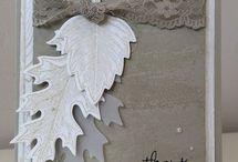 Stampin up vintage leaves