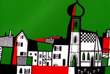 Illustration: House & Land Drawn