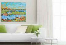 Daily Painting & Sketchbook / 30 paintings in 30 Days. Leslie Saeta Challenge