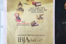 IBJA GOLD in News / IBJA GOLD in news, newspaper ads, ibja gold sis launch, ibja gold franchise