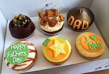 Father's Day 2014 / Daddy daddy cool...we created a range of 6 delicious cupcakes to keep him smiling all day long
