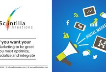 Digital Marketing Companies in Hyderabad | Scintilla Kreations / Scintilla Kreations is one of the best digital marketing companies in hyderabad. Speed your business with Digital Marketing, Digital marketing campaign is in – thanks to smart mobile phones and easy internet connectivity in all of the states of India. The avalanche of increased smartphone usage has spurted rising website design investment since a few years- boosting web traffic and compelling enterprises to have mobile-compatible websites.