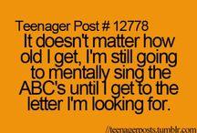 Teenager jokes
