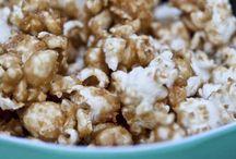 Snacks / Caramel popcorn