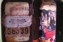 Altered Tins and Boxes