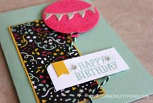 Stampin' Up! Birthday Cards