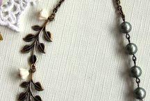 flower & leaf / necklaces