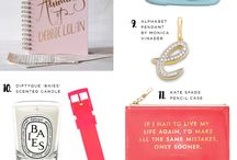 STG Gift Guide / Gift ideas for your bridal party and your BFF from Smashing the Glass, a Jewish wedding blog