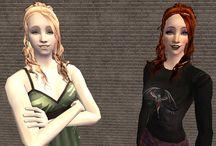 Sims 2 - Hair - Female
