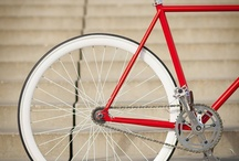 Fixed gear / Fixed gear bike.