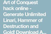Art of Conquest hack gives linari - AoC mod apk