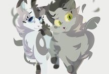 Ivypool/Dovewing / Ivypool and dove wing!