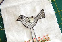 Embroidery / Embroidery patterns, designs and inspiration