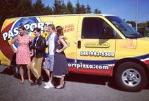Passport pizza Van / Passport Delivery Van on the Go!