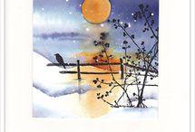 cartes hiver Noël