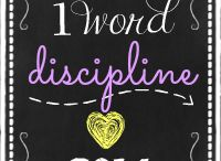 Discipline: One Word 2014