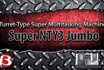 Turret-Type Super Multitasking Machine (Multi Turret Series)