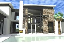 Hot Trends in 2014 House Plans and Designs / From exteriors to interiors, the 2014 trend is toward the simple and sleek look in house plans.