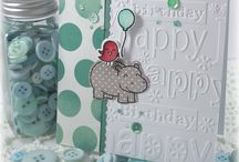 Lawn Fawn Hippo birdie