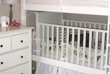 Toubali Nursery / This board is to serve as inspiration for Ilias's and Nora's shared bedroom. Browse and pin more!