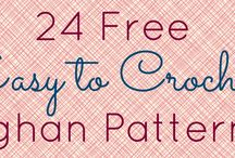 Crochet pattern and tutorial sites.