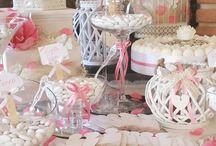 Confettata / La confettata consiste in una degustazione di confetti di vari gusti sui tavoli, allestiti con colori e temi da voi prescelti..