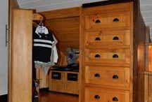 Classy closet space