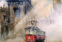 Tramway / Трамвай / Tramway / Трамвай