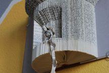 Arte- Libros de artista / Libros de artista: el libro-objeto, el libro intervenido. el libro creado, encuadernaciones, el libro gráfico, etc