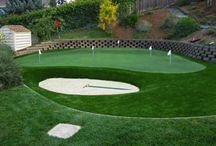 Artificial Turf for Putting Greens / Take a look at these beautiful putting greens, all of which have synthetic turf.