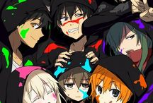 Mekaku city actors / The best anime in a long time