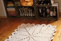 Вязаные ковры
