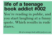 Book addict problem and books