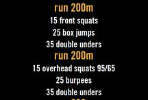 Workouts I can do in the open gym.