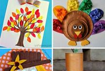 Fall Crafts For Kids / So many cute seasonal DIYs for your kiddos!