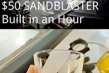 Sandblasting Etc