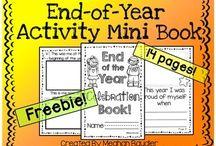 Fin de ciclo escolar / Actividades para fin de ciclo escolar